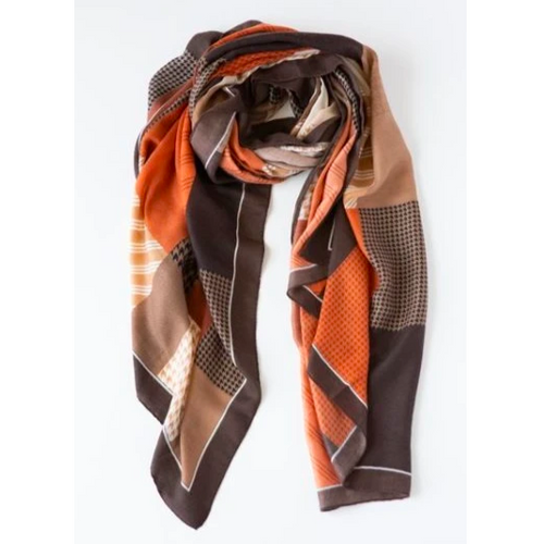 Herringbone Stripe Scarf + Colours