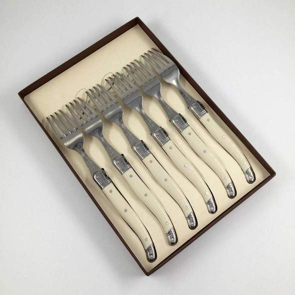 Table Forks Gift Box - Ivory