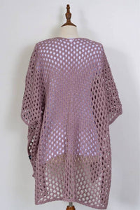 Loop Cape - Mauve