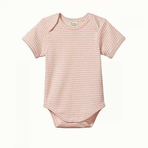 Short Sleeve Bodysuit - Lily Stripe