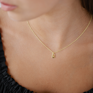 Little Lock Necklace - Gold & Silver