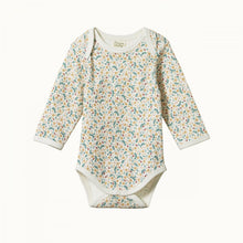 Load image into Gallery viewer, Cotton Long Sleeve Bodysuit - June's Garden
