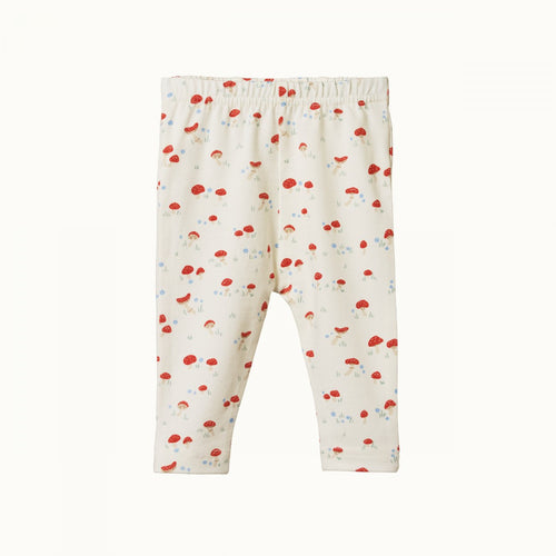Baby Leggings - Mushroom Valley