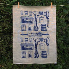 Load image into Gallery viewer, Linen Tea Towel - Olveston Kitchen
