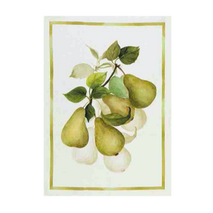 Linen Tea Towel - Pears