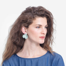 Load image into Gallery viewer, Petal Earring - Mint/Rose