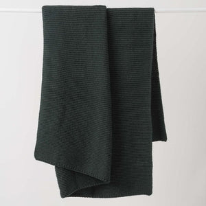 Purl Knit Wool Throw + Colours