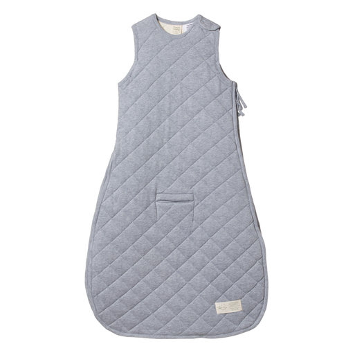 Quilted Duvet Sleeping Bag - Grey Marl