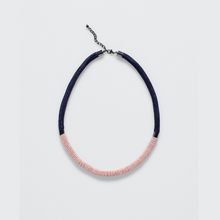 Load image into Gallery viewer, Rek Necklace - Silver/Pink/Midnight