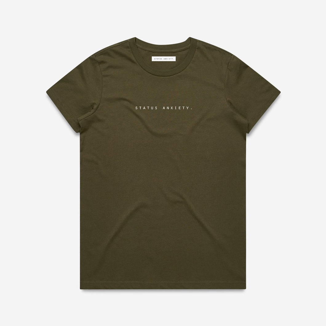 Think It Over Women's Tee - Army
