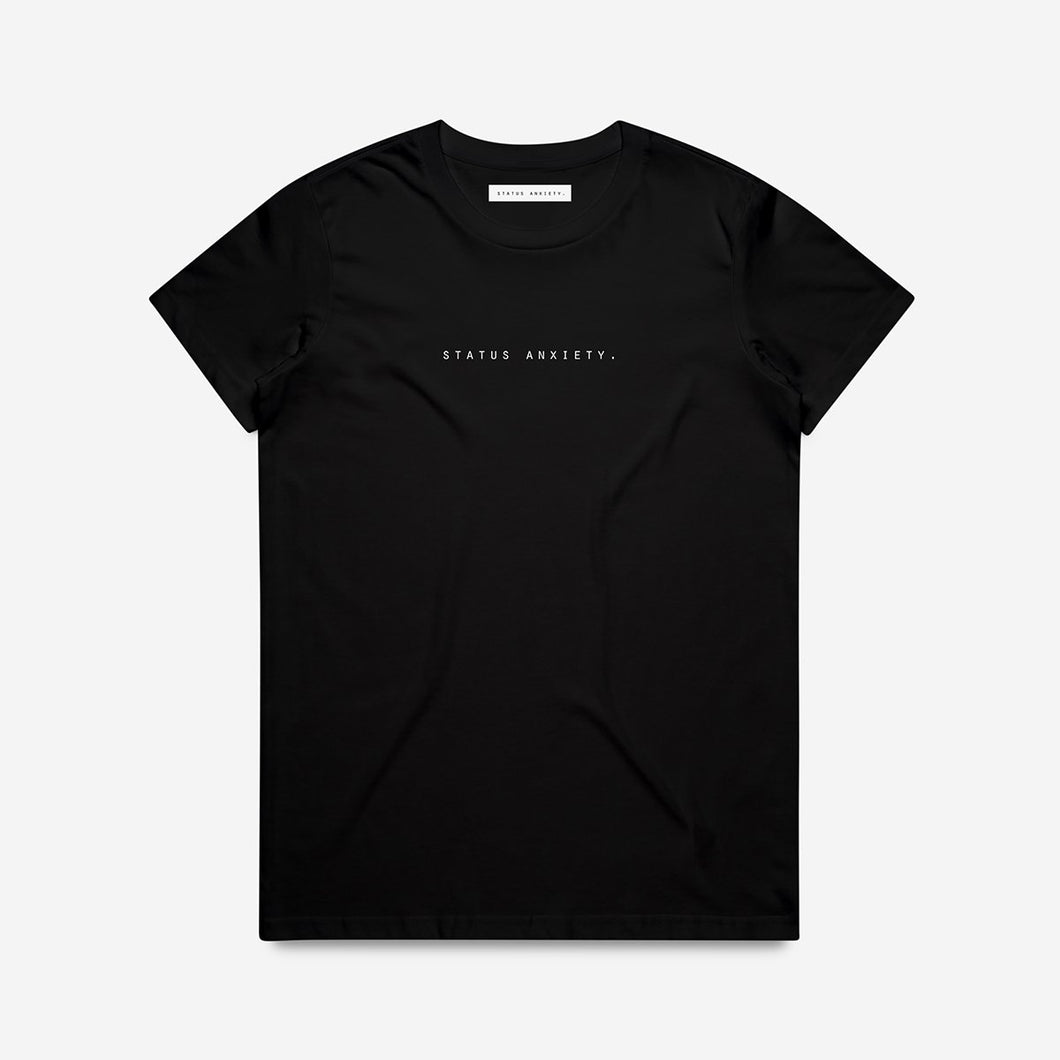 Think It Over Women's Tee - Black
