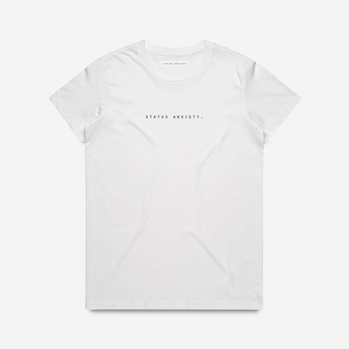 Think It Over Women's Tee - White