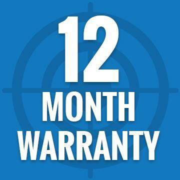 12 Month Part Replacement Warranty - TheNetGunStore.com