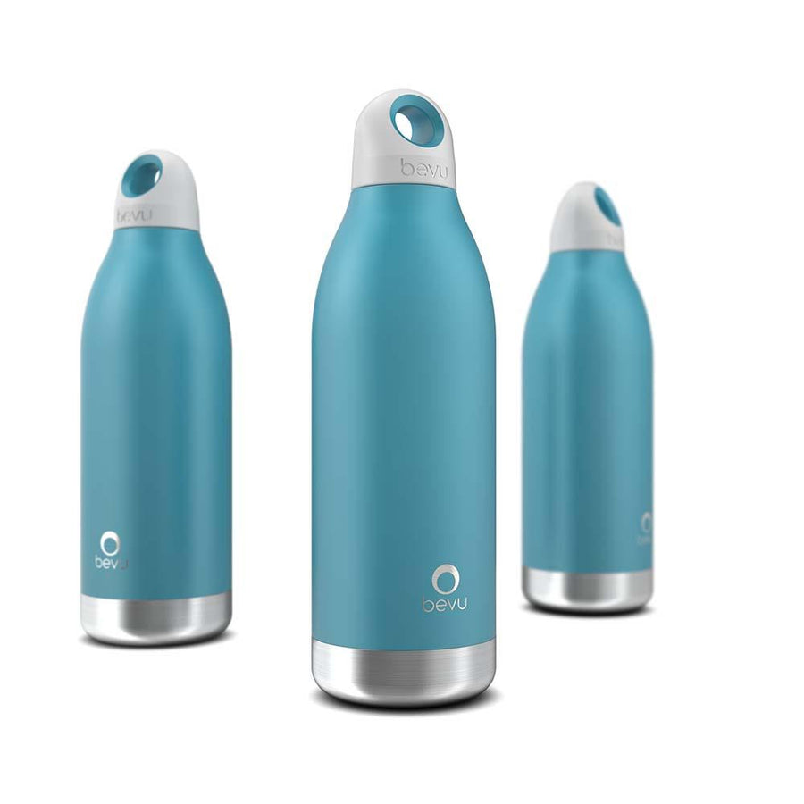 Bottle - Botella Térmica marca Bevu® 450 ml / 15 oz Teal. - BEVU - OsixStore