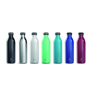 Bevu® ONE Botella Pared Simple Teal 750ml/25oz