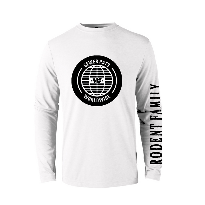 Apparel - Sewer Rats White - Sueter Wizz para caballeros. - WIZZ - OsixStore