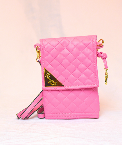 PINK W/BRAND  FREE SHIPPING