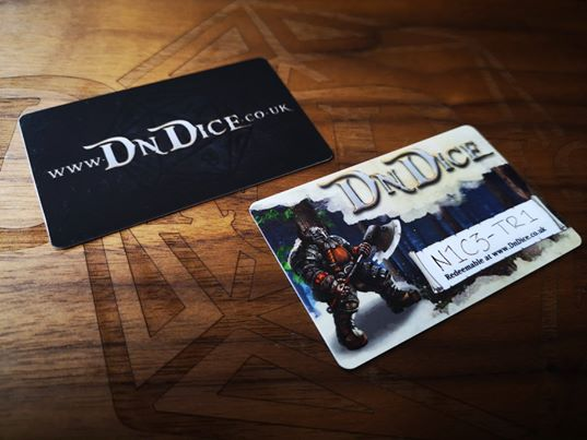 DnDice Gift Card of Plenty