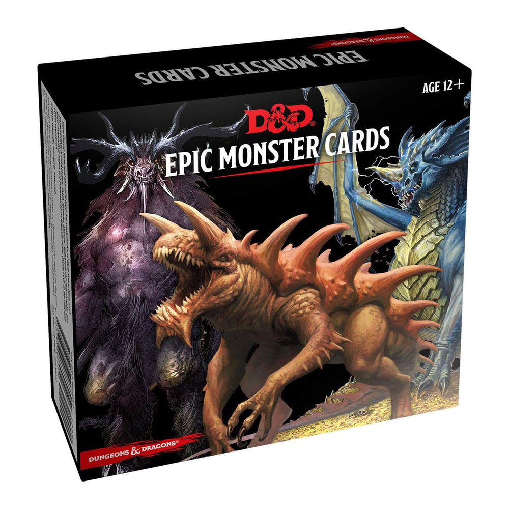 D&D Spellbook Cards - Epic Monster Cards
