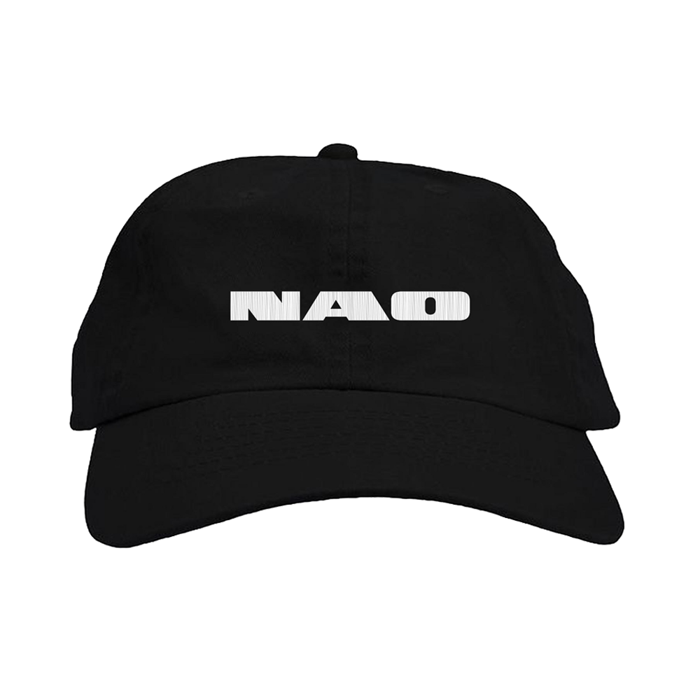 Black Embroidered Hat