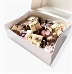 Rocky road brownie dessert gift box for him