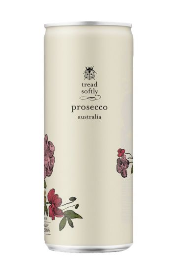 TREAD SOFTLY PROSECCO CAN | ADD ON - The Dessert Atelier