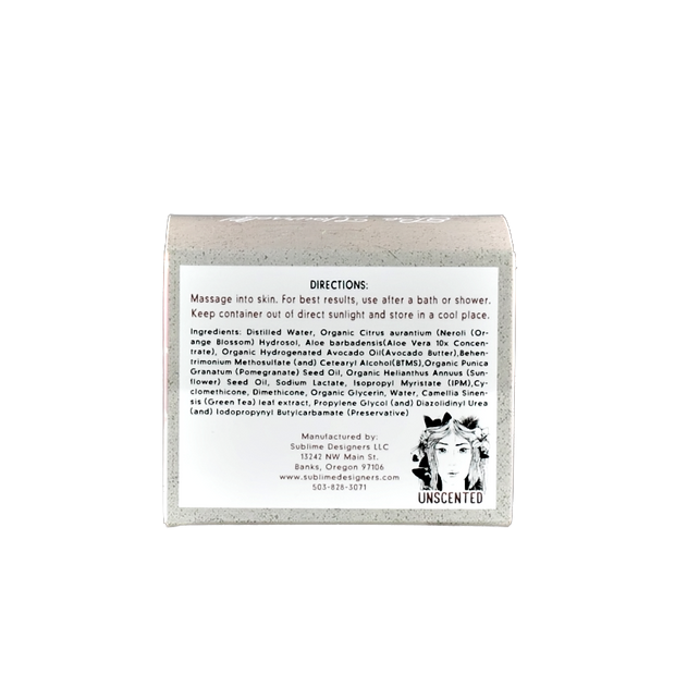 Unscented Body Velvet 8 oz