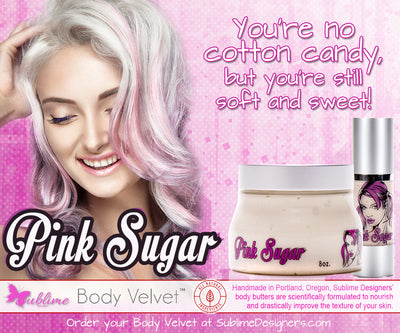 Pink Sugar Sample Card