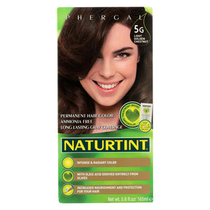 Naturtint Hair Color - Permanent - 5g - Light Golden Chestnut - 5.28 Oz