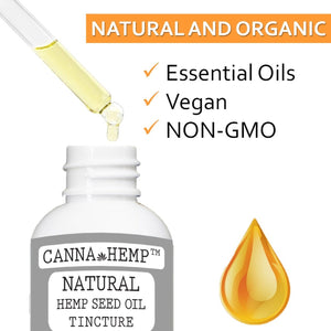 Canna Hemp - Natural Elixir - 1 Fl Oz (30mL)