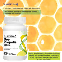 Load image into Gallery viewer, Dr Nutrition 360 - Bee Propolis - 100 Capsules