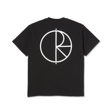 Polar Skate Co. Stroke Logo T-Shirt | Black