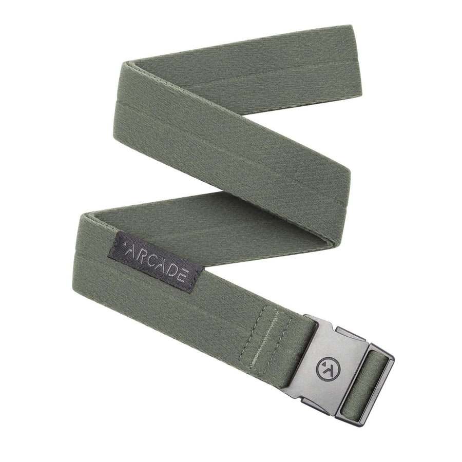 Arcade Ranger Slim Belt | Ivy Green