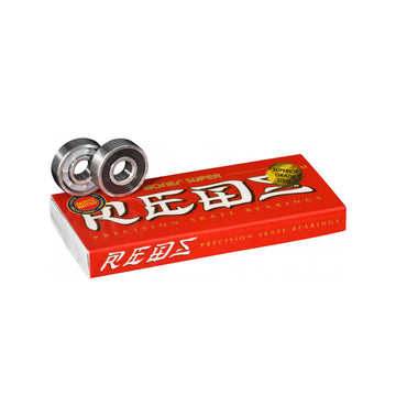 Bones Super Reds Bearings | Pack of 8