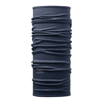 Buff Lightweight Merino Wool Multifunctional Tubular | Solid Denim