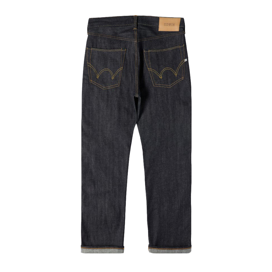 Edwin ED47 Straight Leg Jeans | Blue [Unwashed]