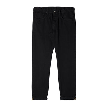 Edwin Regular Tapered Nihon Menpu Jeans | Black Rinsed