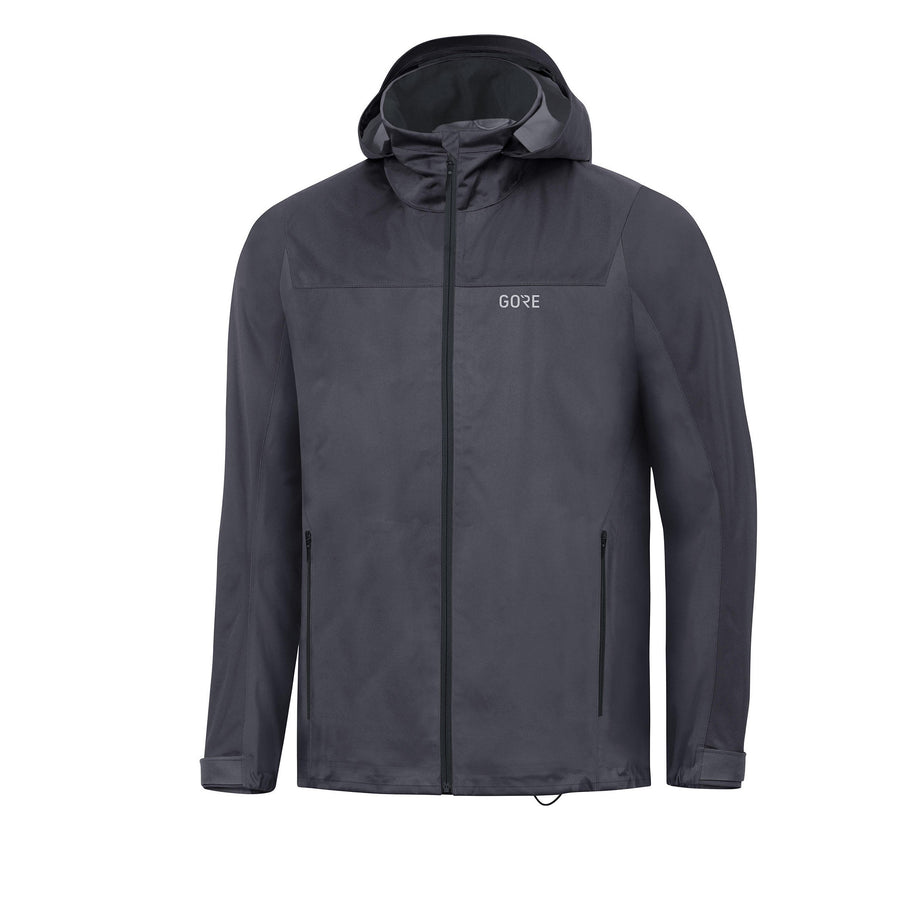 Gore Wear Gore-Tex Active Hooded Jacket | Terra Grey / Black