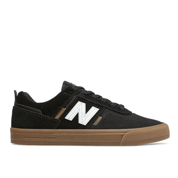 New Balance Numeric 306 Jamie Foy Shoes | Black / Gum