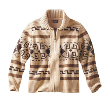 Pendleton Original Westerley Sweater | Tan & Brown