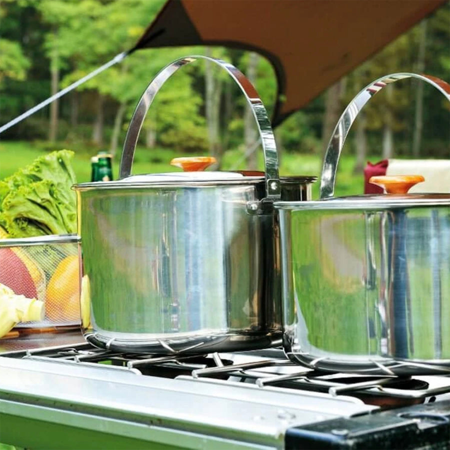 Snow Peak Cooker Pro. 3 Set