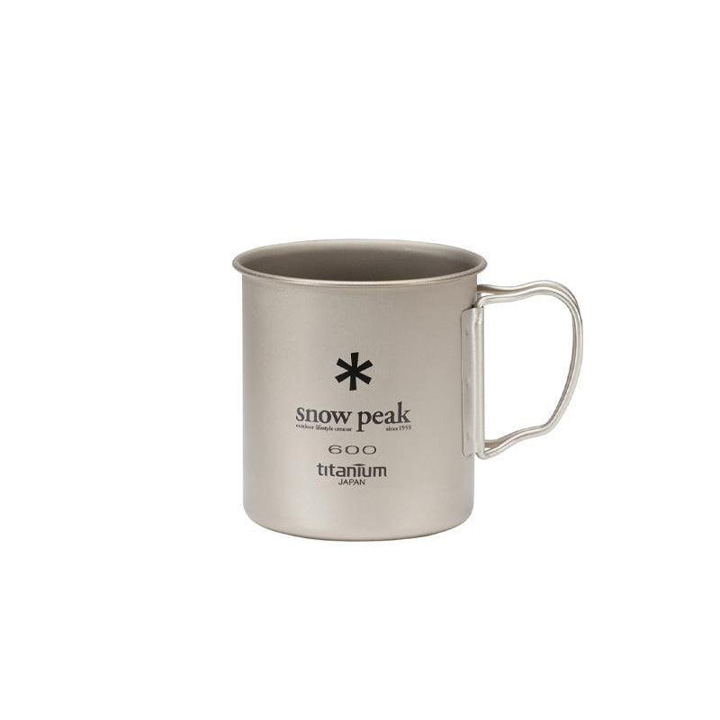 Snow Peak Titanium Single Wall 600 Mug