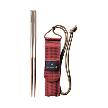 Snow Peak Wabuki Chopsticks | Steel / bamboo