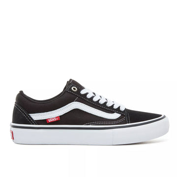 Vans Old Skool Pro Shoes | Black / White