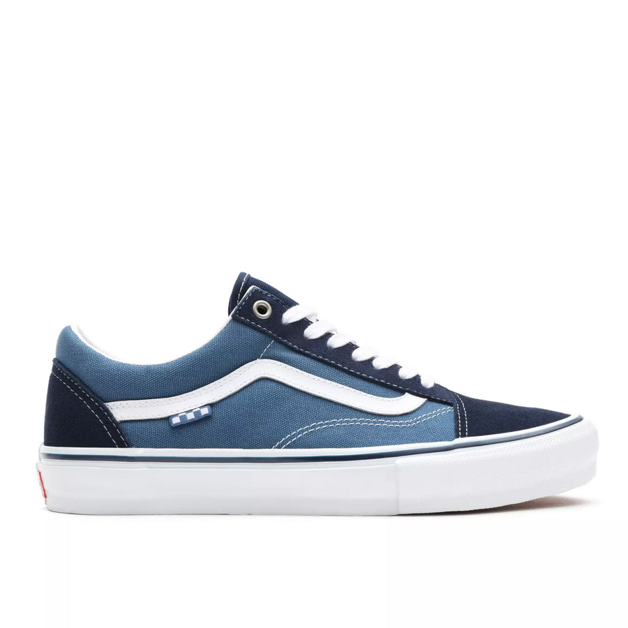 Vans Old Skool Pro Shoes | Navy / White