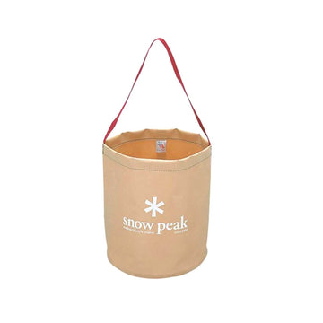 Snow Peak Camping Bucket | Tan