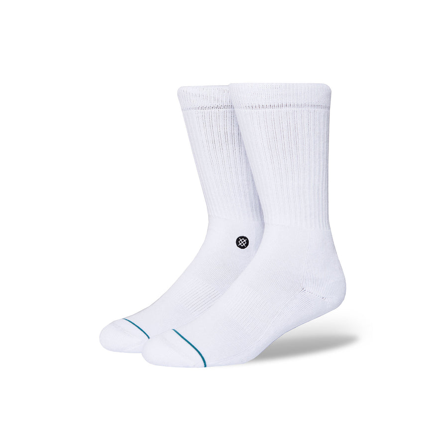 Stance Icon Socks | White