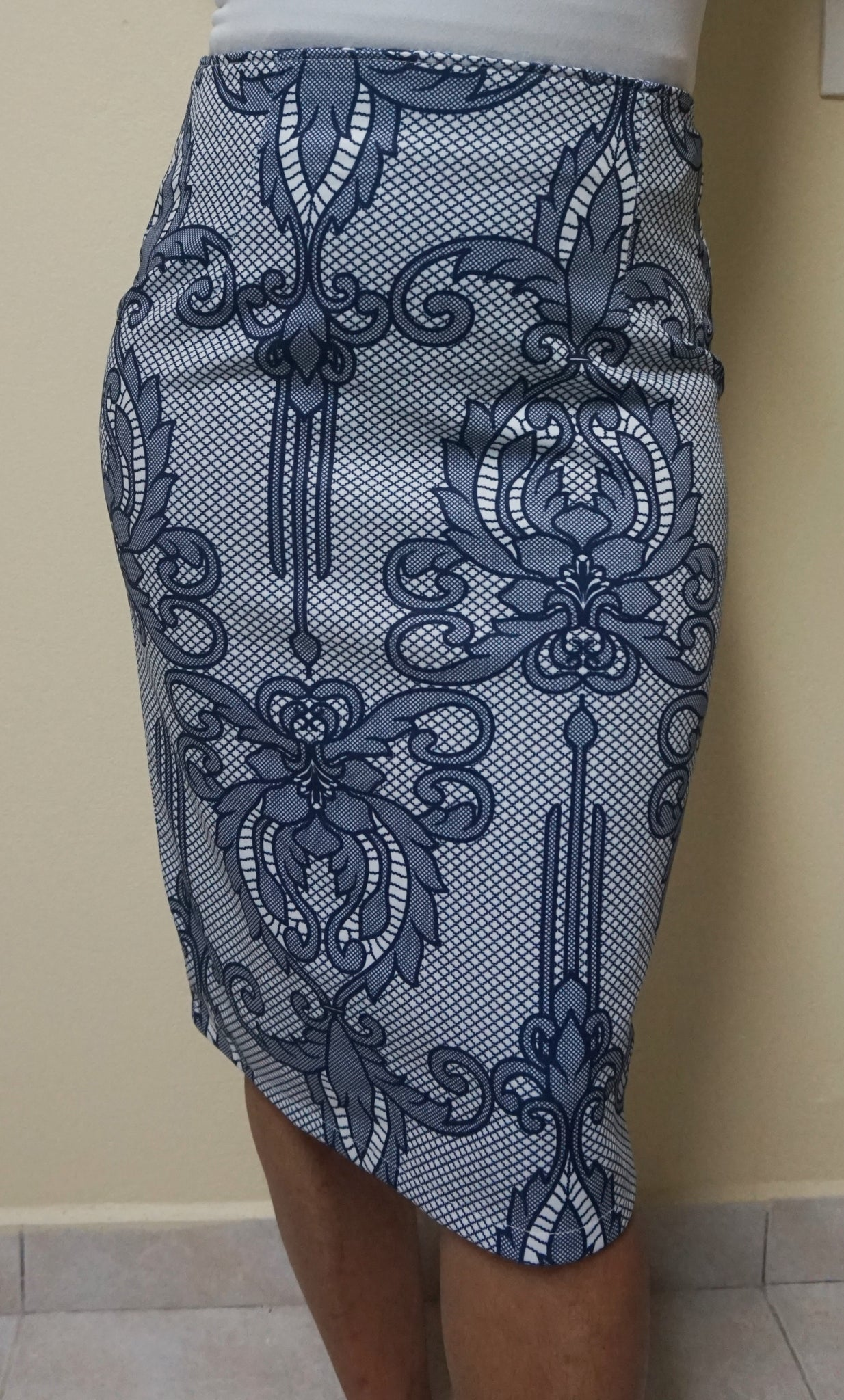 Design skirt I - Blue