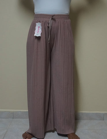 Taupe Flared Pants
