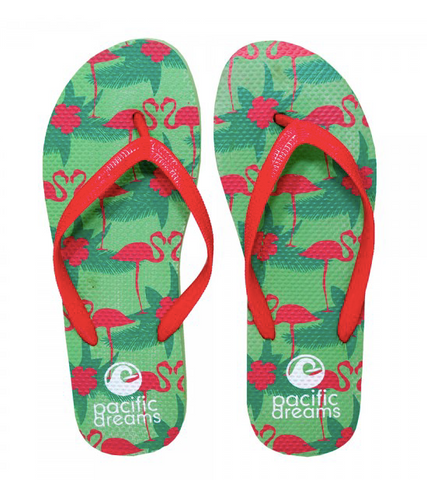 SUMMER FLIP FLOPS - FLAMINGOS